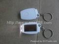 太阳能塑料挂件手电筒 5