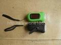 太阳能促销礼品钥匙扣手电筒