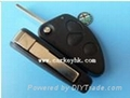 Wholesale and retail Alfa 3 buttons remote key shell ,key blank car key  (Hot Product - 1*)