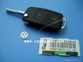 High quaity 2 buttons remote car key shell key blank key VW