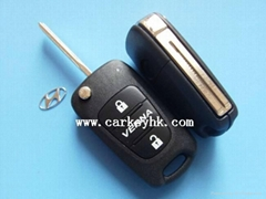 Hyundai Verna flip remote key shell blank cover case fobs