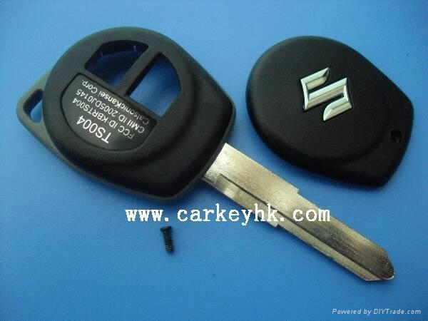 Suzuki swift remote key shell blank case cover housing 1