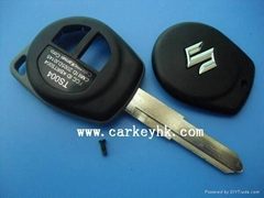 Suzuki swift remote key shell blank case cover housing