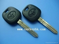 Toyota transponder key with 4C chip