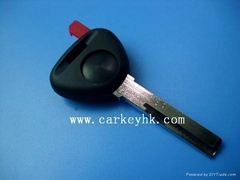 Volvo transponder chip key shell blank case cover housing