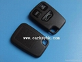 Volvo 3 buttons remote key shell blank