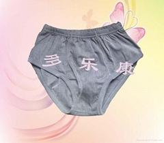 1:1黑竖条磁动力内裤