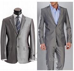 20件起订 专业定做最新款男式西装