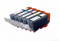日本墨盒 canon佳能320BK 带芯片优质兼容墨盒,专供