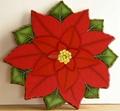 Christmas flower rotate 1