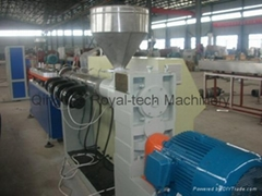 PP/PE Corrugated Pipe Extrusion Line With Galvanized wire