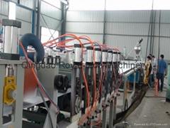 PVC仿结皮发泡板挤出生产线