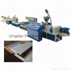 PVC Window Profile Extrusion Line
