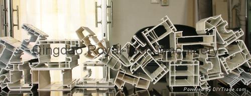 PVC Window Profile Extrusion Line 3
