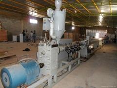 PP/PE冷熱水管擠出生產線