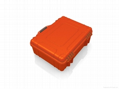 Hard plastic equipment case