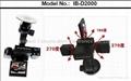 IB-D2000 Night vision  Dual Camera DVR