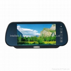 IB-R707A 7inch rearview monitor with touch key