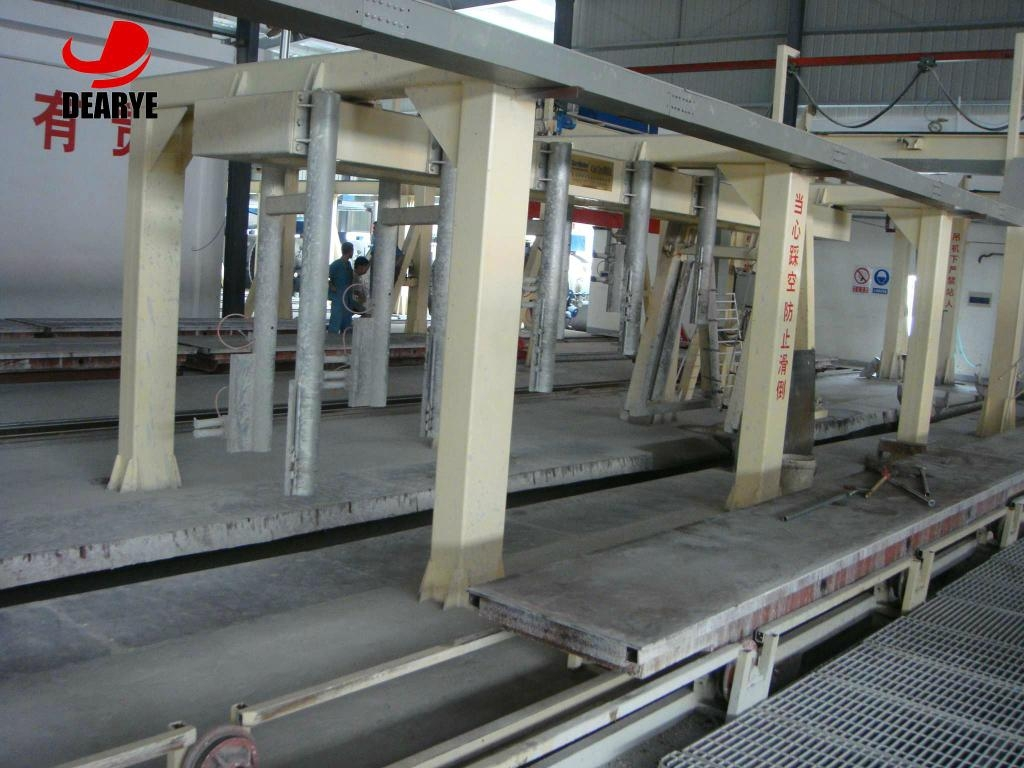Autoclaved Aerated Concrete Aac Blocks Manufacturing Unit