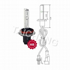TC HID Taichang brand Xenon Bulbs h8 25000k