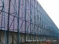 煤矿安装钢结构防风抑尘网