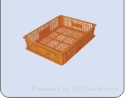 供應浙江溫州塑料托盤週轉箱零件盒超市藍找上海云豪