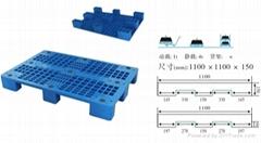 供應安徽巢湖1210塑料托盤週轉箱零件盒