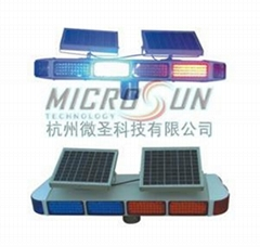 Solar Traffic Warning Lightbar