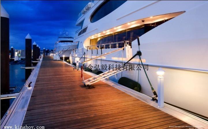 铝合金游艇码头 2