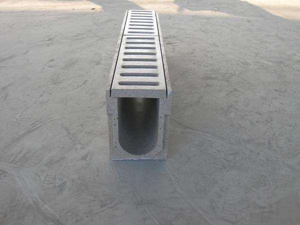 Polymer Concrete Drainage Channel U100 U300 Polycon