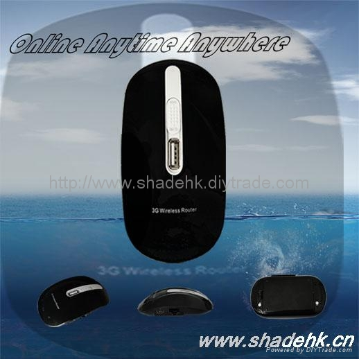 3G Wireless Pocket Wifi Router with Built-in Li-ion Battery 3