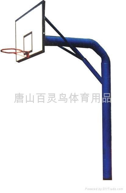 地埋籃球架 1