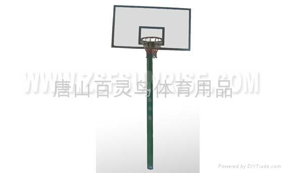 地埋籃球架 2