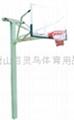 地埋籃球架 3