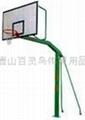地埋籃球架 5