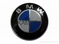 BMW 82MM New 3D Version With 2 Pins High Quality Car Badges Car Emblems 1