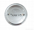 BMW 82MM New 3D Version With 2 Pins High Quality Car Badges Car Emblems 2