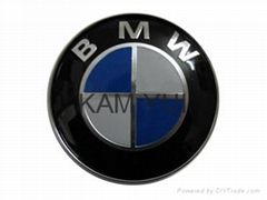 BMW 82MM New 3D Version 3M Paste High Quality Car Badges Car Emblems