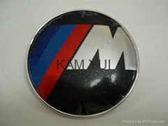 BMW M M Power Car Badge Front & Rear Emblem 82MM Badges With 2 Pins