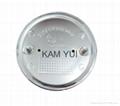BMW M M Power Car Badge Front & Rear Emblem 82MM Badges With 2 Pins 2