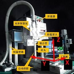 台湾进口全自动点胶机双液灌胶机