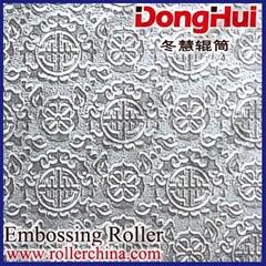 Embossing roller