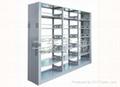 圖書館書架,雙面鋼書架