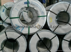 Ga  anized steel sheet in coils