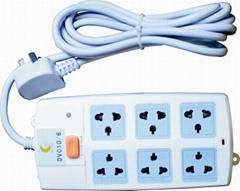 插座式電源避雷器