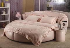 leather bed9058