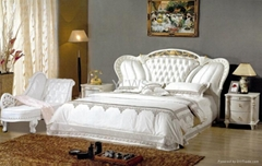 leather bed8083