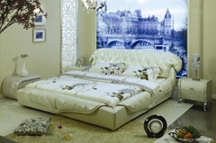 leather bed9050