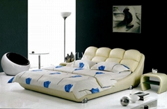 leather bed8098