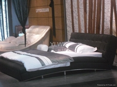 leather bed9070